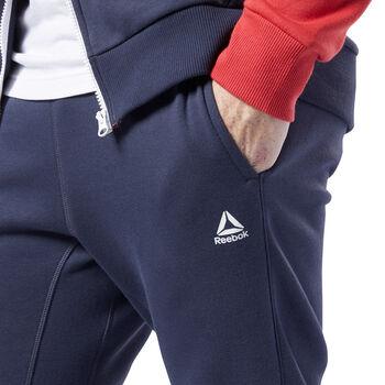 Reebok Training Essentials Logo joggingbroek Heren Blauw