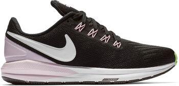 Nike Air Zoom Structure 22 hardloopschoenen Dames Zwart