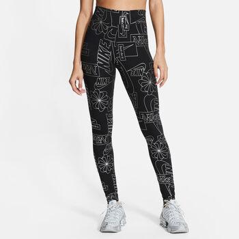 Nike Sportswear Icon Clash High-Waist legging Dames Zwart