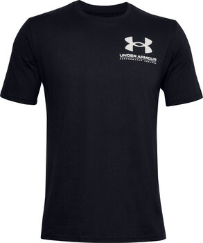 Under Armour Performance Big Logo t-shirt Heren Zwart