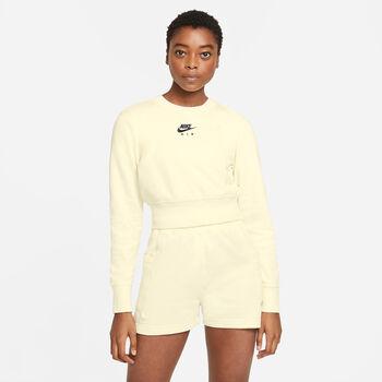 Nike Air sweater Dames Ecru