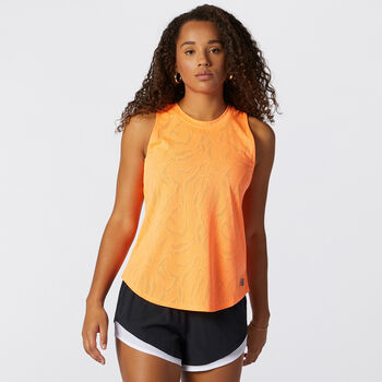 New Balance Q Speed Jacquard top Dames Zwart