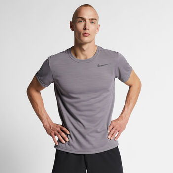 Nike Superset shirt Heren Zwart