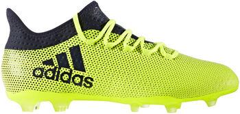 Adidas X 17.2 FG voetbalschoenen Geel
