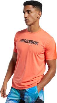 Reebok ACTIVCHILL Move t-shirt Heren Oranje