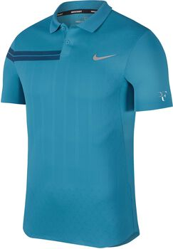 Nike Court Zonal Cooling RF Advantage polo Heren Blauw