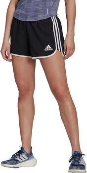 adidas Marathon 20 Primeblue Hardloopshort Dames Zwart