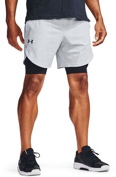 Under Armour Stretch-Woven shorts Heren Grijs
