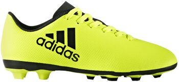 ADIDAS X17.4 FxG jr voetbalschoenen Geel