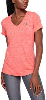 Under Armour Tech SSV Twist shirt Dames Rood
