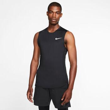 Nike Pro hemd Heren Zwart
