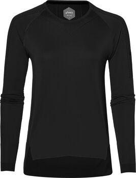 Asics Seamless shirt Dames Zwart