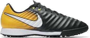 Nike Tiempo Ligera IV turfvoetbalschoenen Zwart