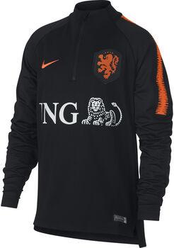 Nike Dry Nederlands Elftal Squad shirt Jongens Zwart