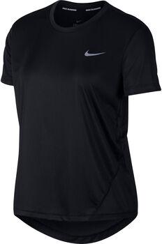 Nike Miler shirt Dames Zwart