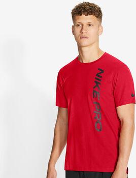 Nike Pro top Heren Rood