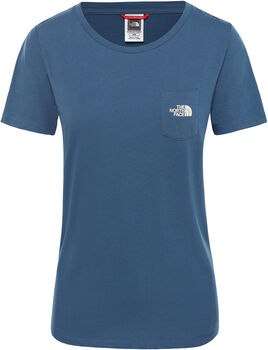 The North Face Extent P8 Logo shirt Dames Blauw