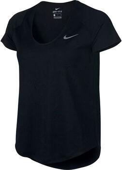 Nike 10k Jacquard Running shirt Dames Zwart