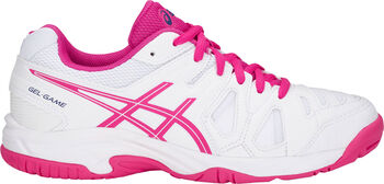 ASICS GEL-Game 5 jr tennischoenen Wit