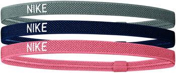 Nike Elastic haarbandjes (3 paar) Grijs