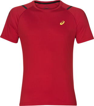Asics Icon shirt Heren Rood