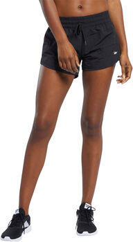 Reebok Workout Ready short Dames Zwart