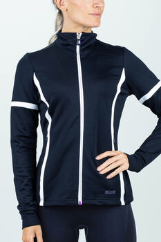Sjeng Sports Jazzy trainingsjack Dames Blauw