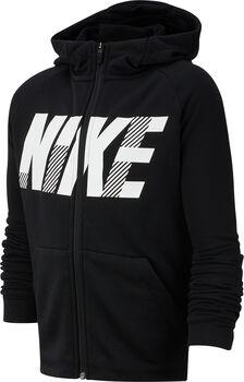 Nike Dry GFX hoodie Zwart