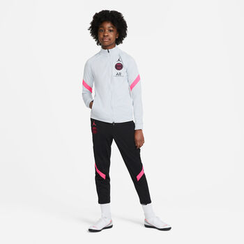 Nike Paris Saint-Germain Dry Strike kids trainingspak Jongens Zwart