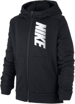Nike Dri-FIT kids hoodie Jongens Zwart