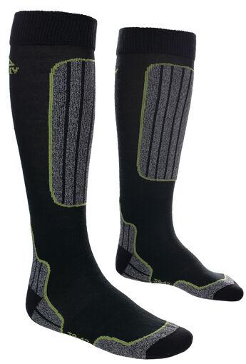 Mckinley - Basic 2-pack skisokken - Heren - Sokken - Zwart - 35-38