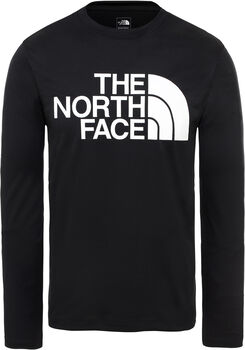 The North Face Flex 2 Big Logo longsleeve Heren Zwart