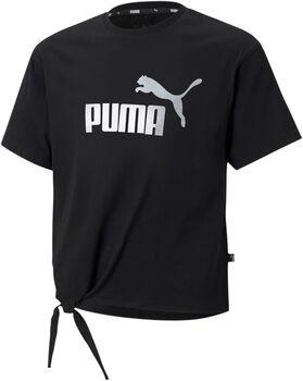 Puma Essential+ Logo Silhouette shirt Meisjes Zwart