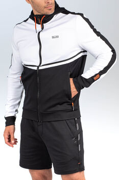 Sjeng Sports Fields hoodie Heren Wit
