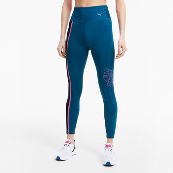 Puma High Rise 7/8 legging Dames Blauw