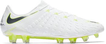 Nike Hypervenom Phantom 3 Elite FG voetbalschoenen Heren Wit