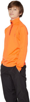 Protest Willowy 1/4 Zip jr sweater Jongens Oranje