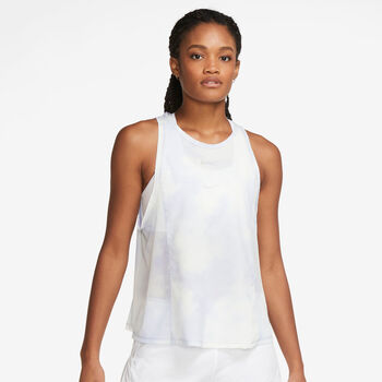 Nike Icon Clash City Sleek top Dames Blauw