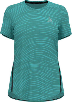 Odlo Zeroweight Engineered Chill-Tec shirt Dames Blauw