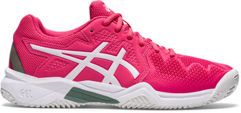 ASICS GEL-Resolution 8 Clay kids tennisschoenen  Jongens Roze