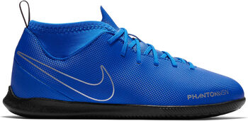 Nike Jr Phantom Vision Club Dynamic Fit IC zaalvoetbalschoenen Blauw