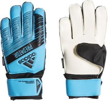 ADIDAS Predator Top Training Fingersave keepershandschoenen Blauw