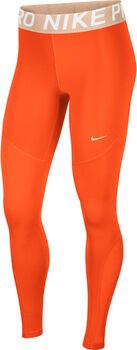 Nike Pro New tight Dames Oranje