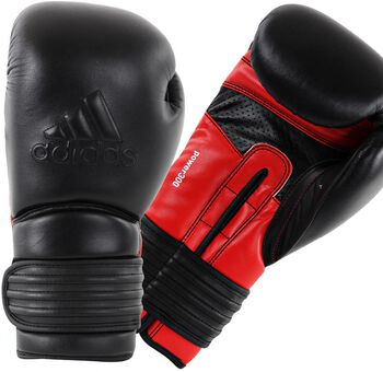 ADIDASBOXING Power 300 (kick)bokshandschoenen Heren Zwart