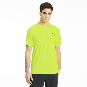 Puma Power Thermo R shirt Heren Geel