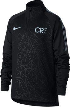 Nike Dry CR7 Squad Football Drill jr longsleeve Jongens Zwart