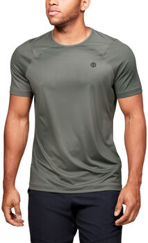 Under Armour HG Rush Fitted shirt Heren Groen