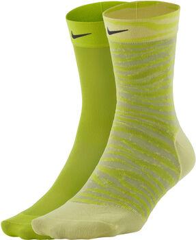 Nike Sheer enkelsokken (2 paar) Dames Multicolor