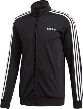 adidas Essentials 3-Stripes Tricot trainingsjack Heren Zwart