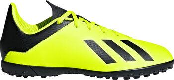 ADIDAS X Tango 18.4 TF jr voetbalschoenen Geel